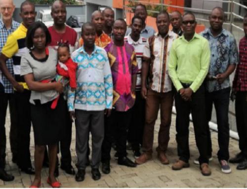 Ghana project progress report